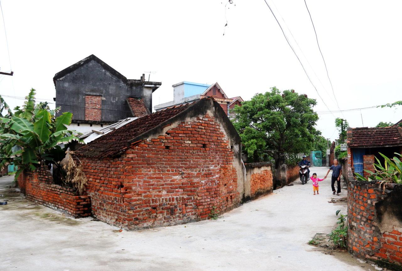 Một góc làng Chu Đậu ngày nay - Ảnh: Thái Lộc