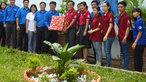 Bãi rác 'hô biến' thành vườn hoa đẹp ở Sài Gòn