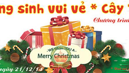 Giáng Sinh vui vẻ - Cây Thị tặng quà