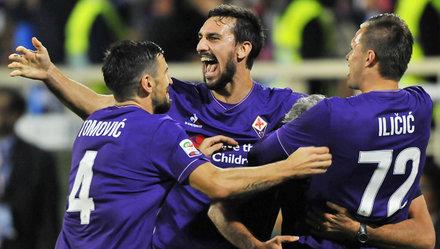 Fiorentina tiếp tục dẫn đầu Giải Serie A