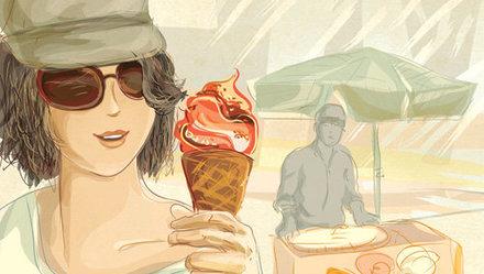 """Viêm họng phải""""đoạn tuyệt""""kem, đúng không?"""