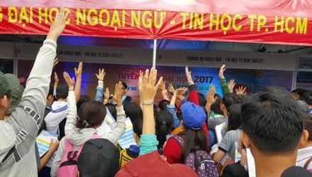 Trường ĐH Ngoại ngữ-Tin học TP.HCM tuyển 2.600 chỉ tiêu
