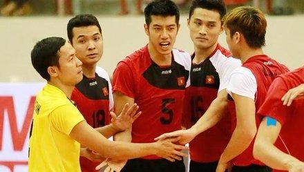 Tuyển VN tranh hạng 5 Giải bóng chuyền CLB nam châu Á                         4