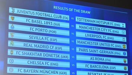 R.M đụng PSG, Chelsea gặp Barca ở vòng 16 đội Champions League