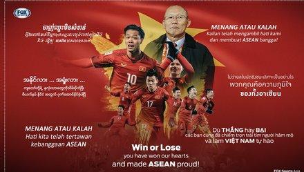 Vinh danh hành trình của U23 Việt Nam cùng FOX châu Á