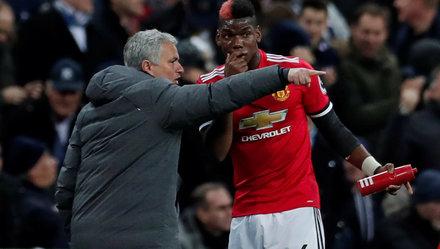 """HLV Mourinho """"nổi điên"""" về tin đồn bất hòa với Pogba"""