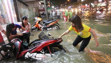 Các đô thị ĐBSCL: Trong thế gọng kìm ngập lụt