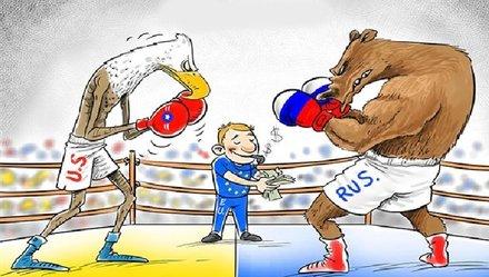 Ukraine giữa hai làn đạn