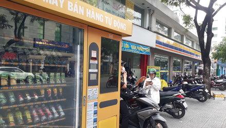 Máy bán hàng tự động ở Việt Nam:Từ nhà ra phố