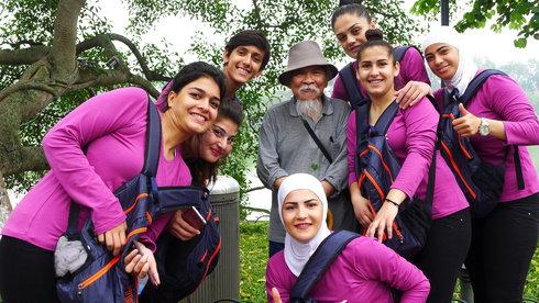 Những cô gái Syria ở Hà Nội