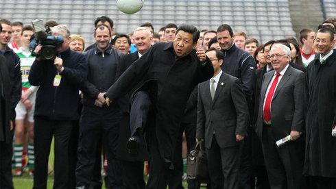 """""""Giấc mơ Trung Hoa"""" trên sân bóng"""