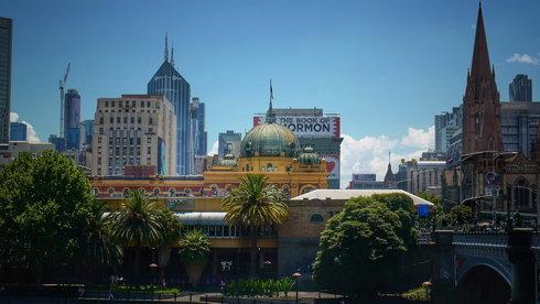 Sắc màu Melbourne