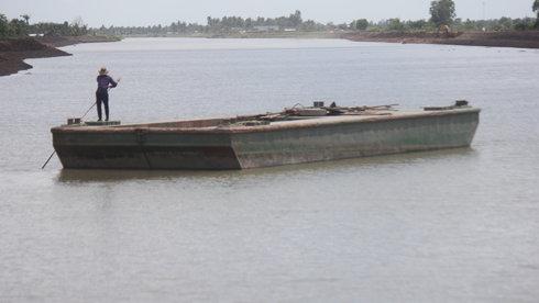 Trữ nước ngọt ở hạ nguồn sông Tiền