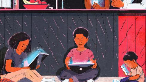 Trẻ con ngồi trước màn hình: Bao lâu thì đáng giật mình?