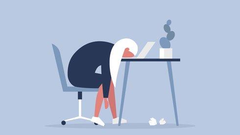 """Hội chứng """"Burnout"""": Đối diện cảm giác """"sức tàn lực kiệt"""" ở chỗ làm"""