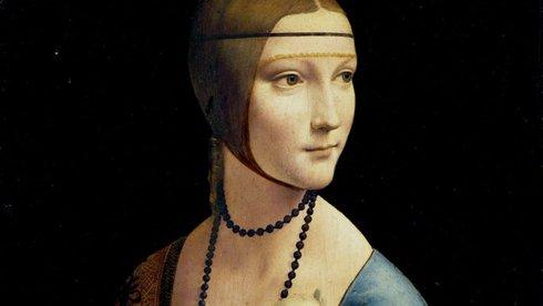 Mật mã Da Vinci trong bức tranh 'Quý cô và con chồn'