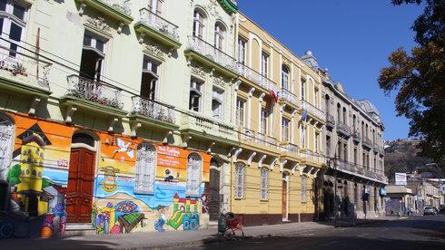 Valparaíso - thành phố mỹ thuật của Nam Mỹ