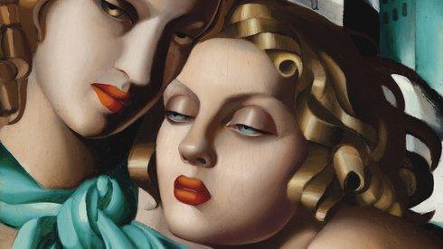 Những phụ nữ trong tranh Tamara de Lempicka: Vẻ đẹp không tì vết và vượt thời gian