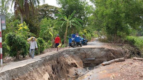 Xâm nhập mặn - xâm nhập ngọt ở Đồng bằng sông Cửu Long: Hãy đáp lại tiếng gọi thuận thiên
