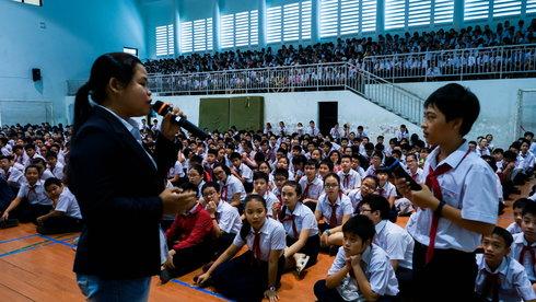 """""""Nữ anh hùng điểm nóng đa dạng sinh học"""" Lê Thị Trang: công việc bảo tồn khiến tôi vô cùng hạnh phúc"""