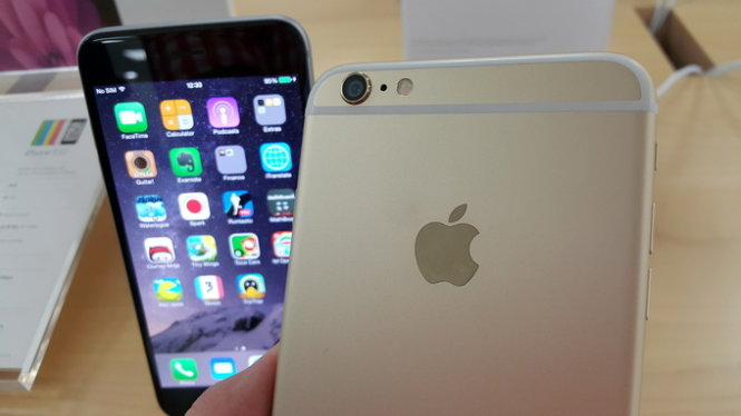 Apple iPhone 6 Plus - Ảnh: T.Trực