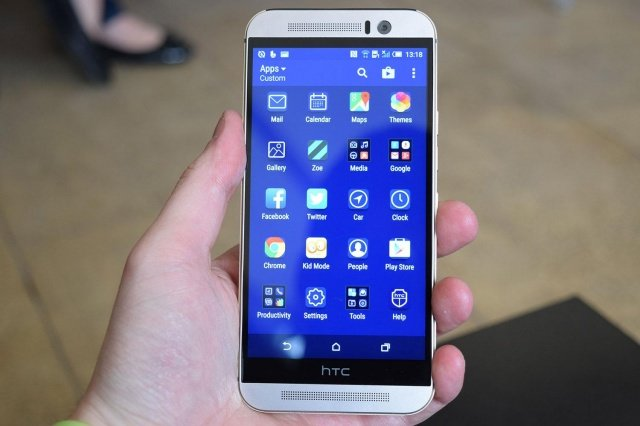 HTC One M9 - Ảnh: Internet