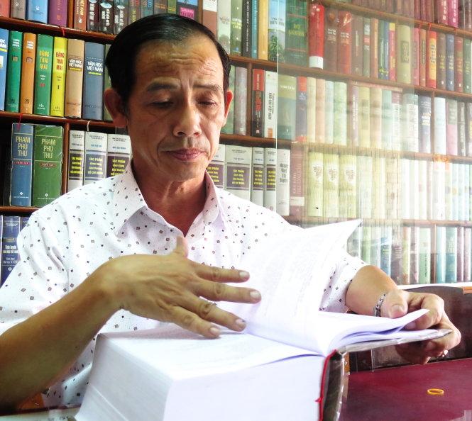Ông Phạm Ngô Minh - Ảnh: Tấn Vũ