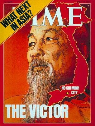Chủ tịch Hồ Chí Minh trên bìa tạp chí Time