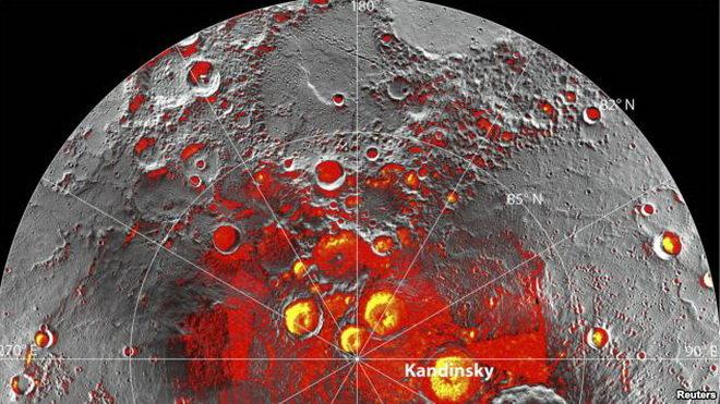 Sao Thủy sử dụng nhiệt độ cao để tạo ra lượng băng khổng lồ