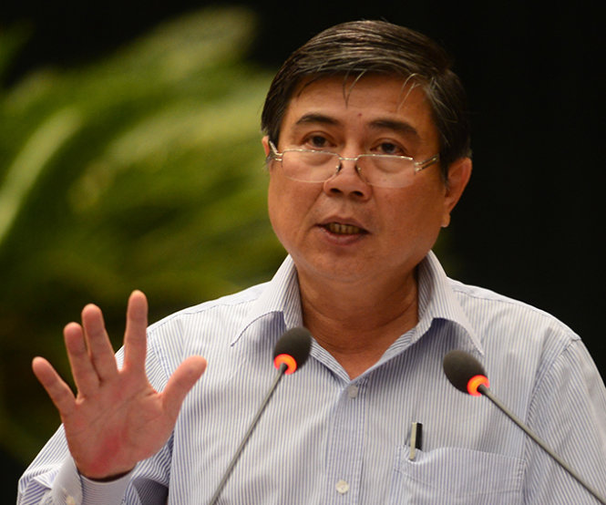 Kết quả hình ảnh cho Nguyễn Thành Phong, Chủ tịch TP.HCM,
