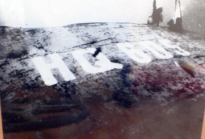 Tàu HQ-605 bị bắn chìm ngày 14-3-1988 - Ảnh tư liệu
