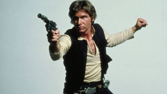 Harrison Ford (vai Han Solo) trong phim Star Wars: Episode IV - A New Hope (1977) - Ảnh: IMDb