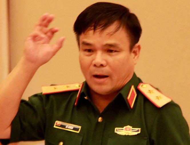 Trung tướng Lê Chiêm. Ảnh: Trung Tân