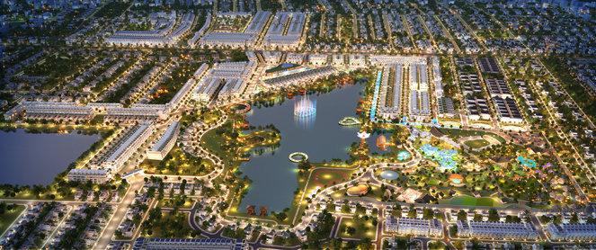 Phố Thương mại Long Phát thuộc khu đô thị sinh thái Cát Tường Phú Sinh hút  khách - Tuổi Trẻ Online