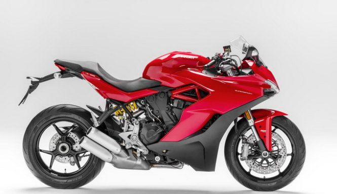 Ducati SuperSport 2017 - Ảnh: cycleworld