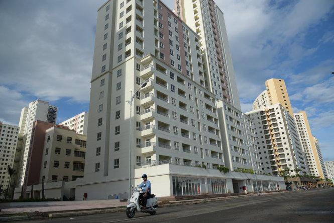 Khu tái định cư 30,2ha P.Bình Khánh (Q.2, TP.HCM) hiện còn nhiều căn hộ để trống-Hữu Thuận