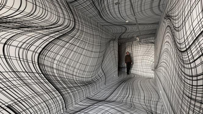Căn phòng kỳ lạ gây ảo giác như thôi miên