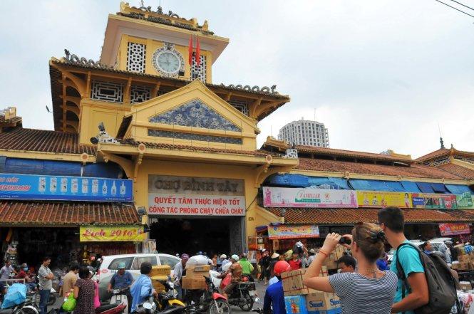 Chợ Bình Tây, TPHCM  Ảnh Quang Định