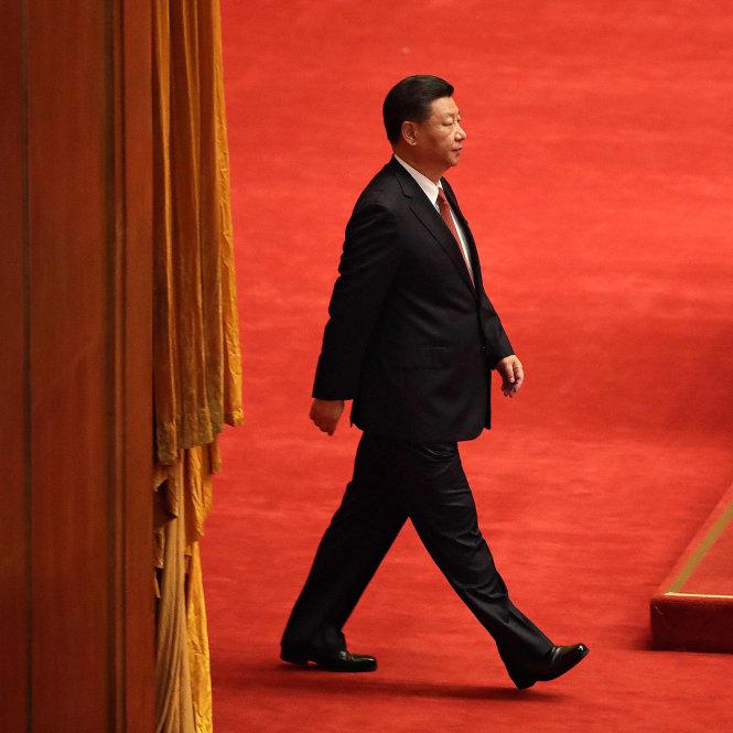Từ thời Đặng Tiểu Bình, chưa bao giờ Trung Quốc có một nhà lãnh đạo với vai trò cá nhân lớn như thế? -Ảnh: AFP/Getty Images