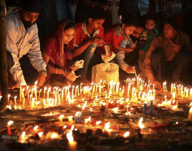 New Delhi nghẹt thở trong mùa lễ hội