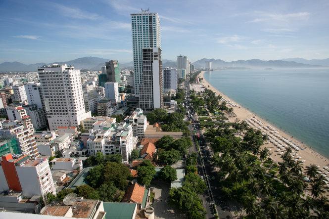 Thành phố Nha Trang, một trong những địa phương có nhiều dự án condotel. Ảnh: TIẾN THÀNH