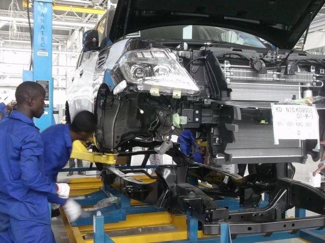 Nissan chọn Nigeria làm nơi sản xuất để cung ứng cho thị trường châu Phi.