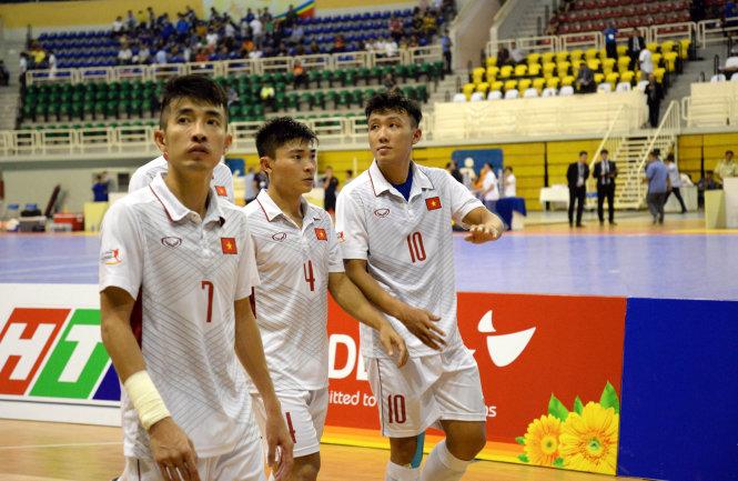 Futsal VN mất luôn hạng ba Đông Nam Á 2017