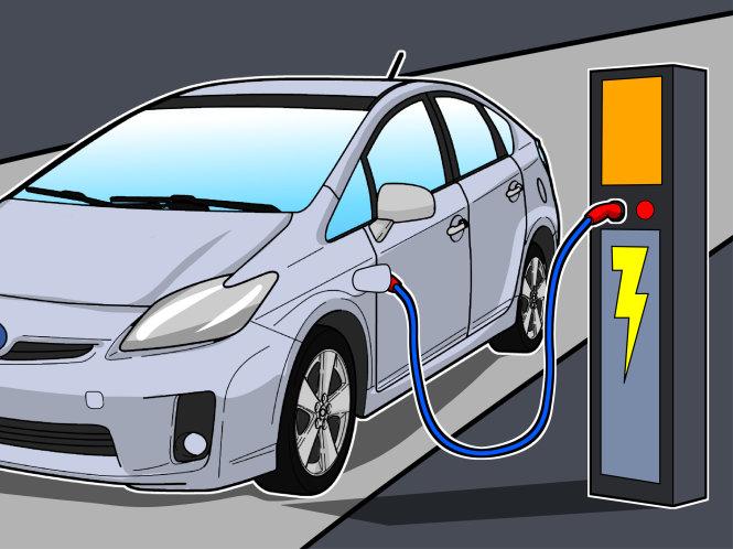Nạp điện cho xe