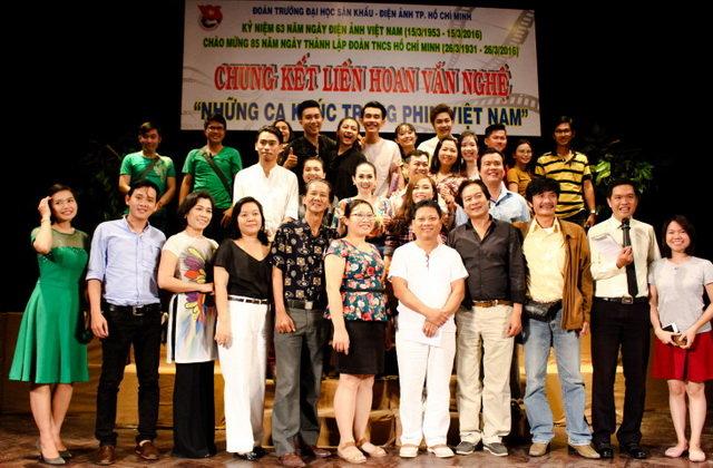 Trường ĐH Sân khấu Điện ảnh TP.HCM là nơi đào tạo những người hoạt động chuyên nghiệp trong lĩnh vực sáng tác, biểu diễn… - Ảnh: Website nhà trường