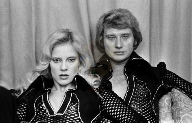 Sylvie Vartan và -Johnny Hallyday