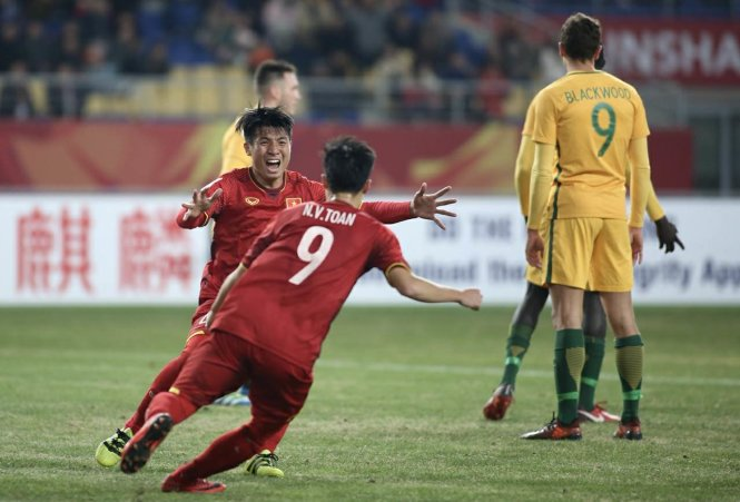 """U-23 VN thắng """"sốc"""" Úc"""