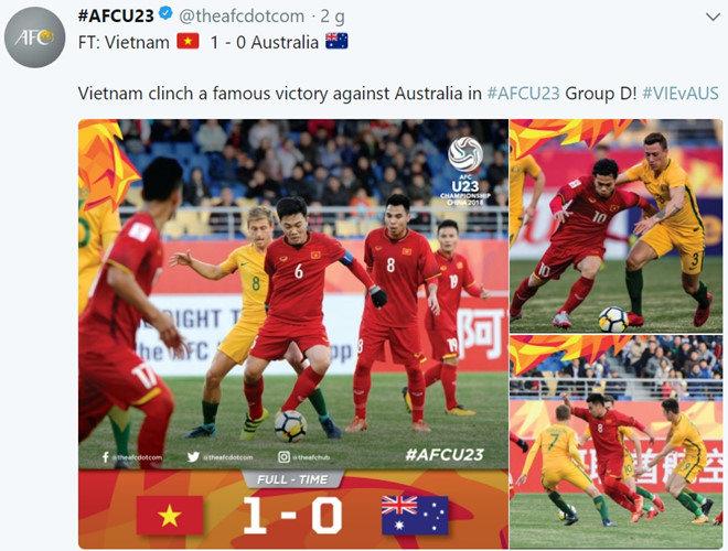 """Báo chí Úc gọi thất bại trước U-23 VN là """"thảm họa"""""""