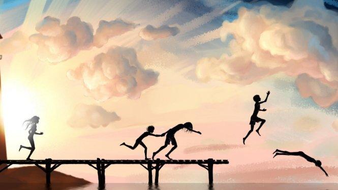 Hành trình đến với hạnh phúc bắt đầu trong đầu ta, nhưng sẽ chấm dứt ở các cảm xúc của ta - Ảnh: w-dog.net