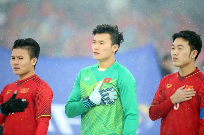 """Thủ môn Bùi Tiến Dũng """"xuất trận"""" tại AFC Cup 2018"""